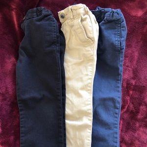 Children's Place Dress Pants (bundle of three)